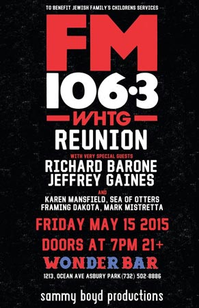 FM106.3 Reunion Show Takes Place May 15