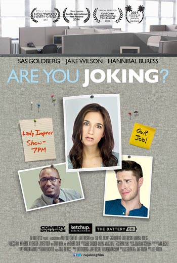 """Comedy Dynamics To Release Indie Film """"Are You Joking?"""""""