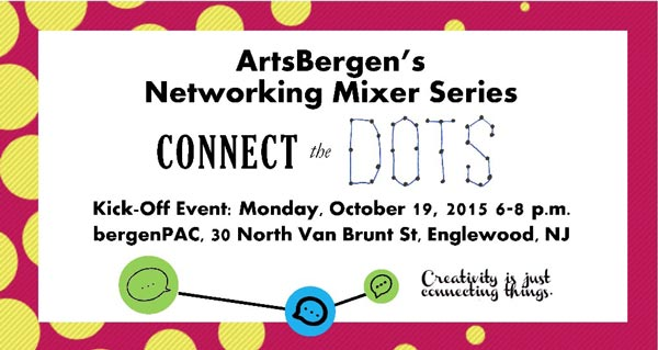 ArtsBergen to Launch Connect the Dots, Networking Series