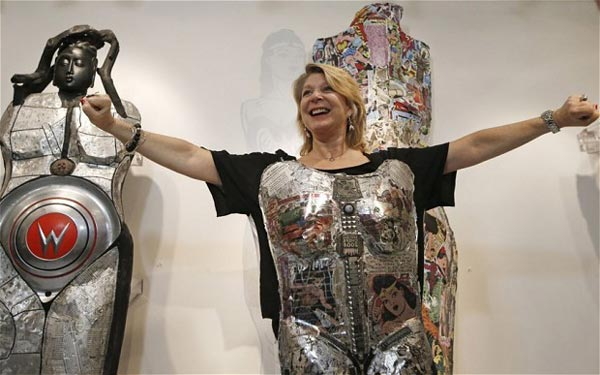 The Fluidity of Gender: Sculpture by Linda Stein (Sept 21 - Jan 5, 2016)