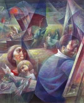 WPA Artist Michael Lenson:  Art History Lecture at Noyes Museum