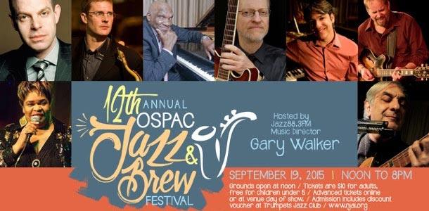 12th Annual OSPAC Jazz & Brew Fest
