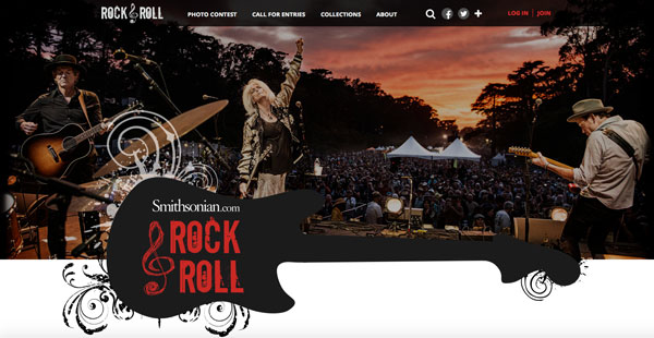 Smithsonian Launches Rock and Roll Site, Seeks Photos For Book