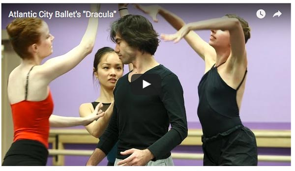 "Sink Your Teeth Into Atlantic City Ballet's ""Dracula"""