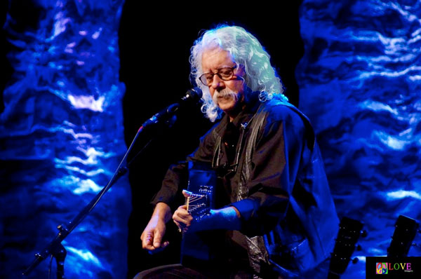 """Running Down the Road"" Arlo Guthrie LIVE! at The Grunin Center"