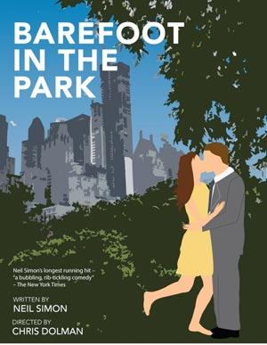 """Cape May Stage Presents Neil Simon's """"Barefoot In The Park"""""""
