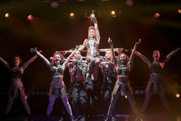 """Save All Your Love"" for The Bodyguard at the Paper Mill Playhouse"