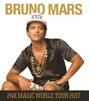 Bruno Mars To Perform At Prudential Center in September 2017