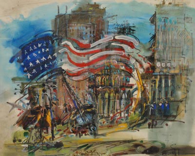 Morris Museum Presents W. Carl Burger - The Urge To Paint