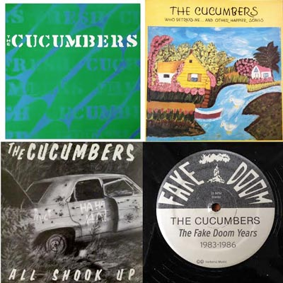 Cucumbers Remaster And Re-release Early Recordings With The Fake Doom Years