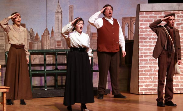 "Sundog Theatre Presents ""Ellis Island: Gateway To A Dream"""