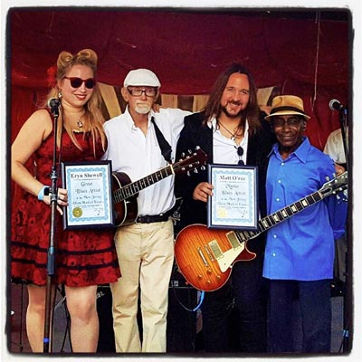 Eryn Shewell and Matt O'Ree Inducted Into NY/NJ Blues Hall of Fame