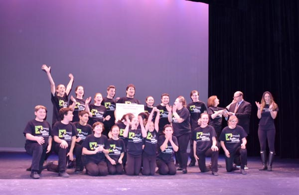 The Ashley Lauren Foundation Theatre Ensemble of Monmouth County Wins Grunin Foundation Award