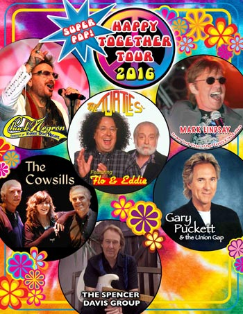 BergenPAC Presents The Happy Together Tour 2016