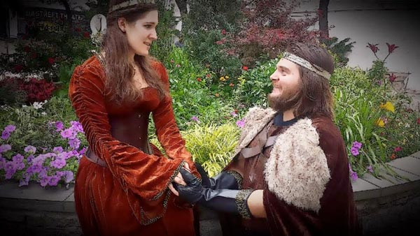 Shakespeare's Lost History Romance tours in July