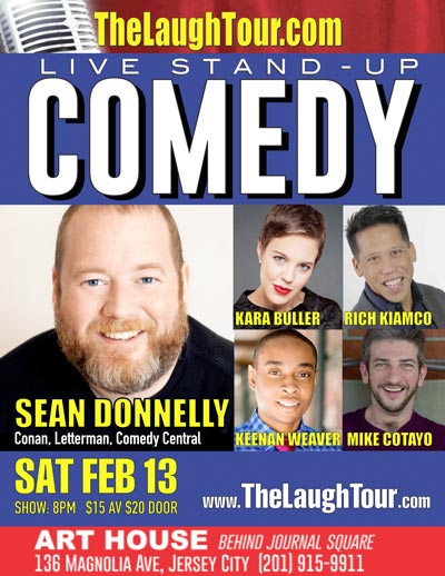 Sean Donnelly Headlines Comedy Night at Art House