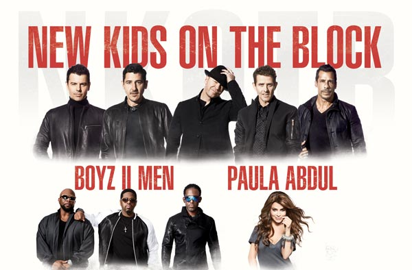 New Kids On The Block, Boyz II Men, and Paula Abdul To Perform In Newark
