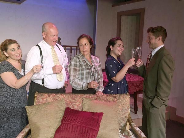 "Nutley Little Theatre Presents ""The Last Night Of Ballyhoo ..."