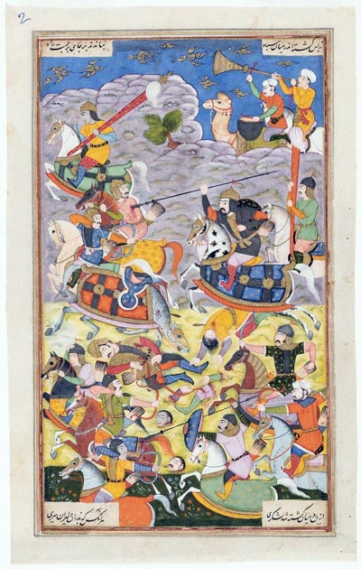 Epic Tales from India: Paintings from The San Diego Museum of Art premieres at the Princeton University Art Museum Nov. 19, 2016 through Feb. 5, 2017