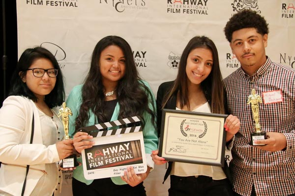 Rahway International Film Festival Celebrates Local Student Filmmakers
