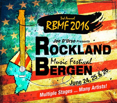 2016 Rockland-Bergen Music Festival Early Bird Tickets Are On Sale