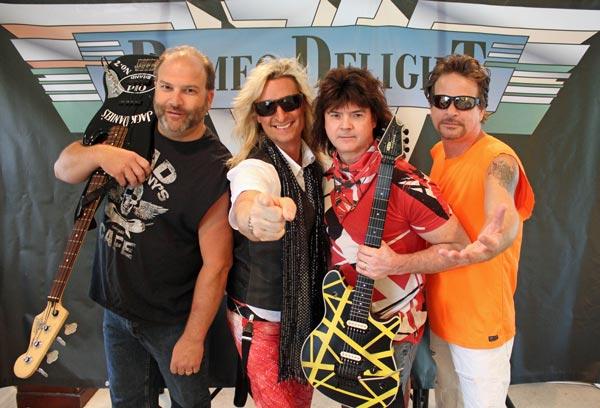 Romeo Delight To Replicate Van Halen's Debut Album At The Strand