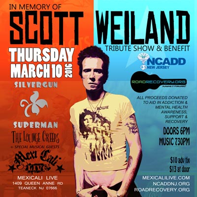 Scott Weiland Tribute and Benefit
