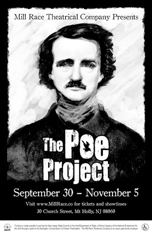 """The Poe Project"" To Be Staged By The Mill Race Theatrical Company"