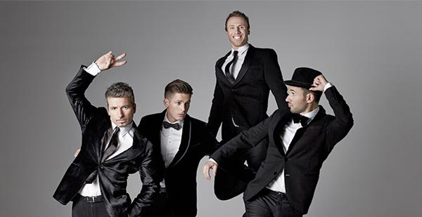 NJPAC Presents THE TENORS When We Are Together Christmas Tour