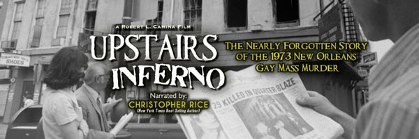 Upstairs Inferno to be Screened at RVCC as Part of LGBT History Month Commemoration