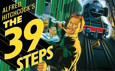 "Teaneck New Theatre Presents ""39 Steps"""
