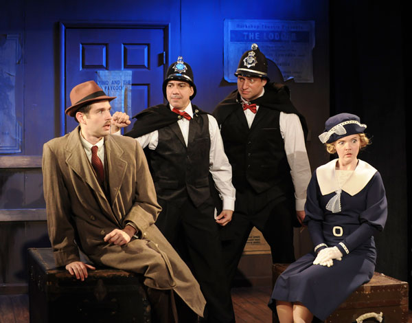 "REVIEW: ""The 39 Steps"" at Mile Square Theatre"