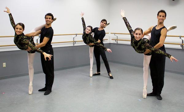 American Repertory Ballet's Three Principal Male Dancers Appear   as Guest Artists in Gotta Dance's Annual Concert