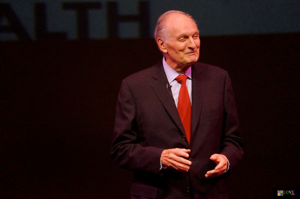 M*A*S*H Star Alan Alda Appears at Toms River, NJ's Grunin Center