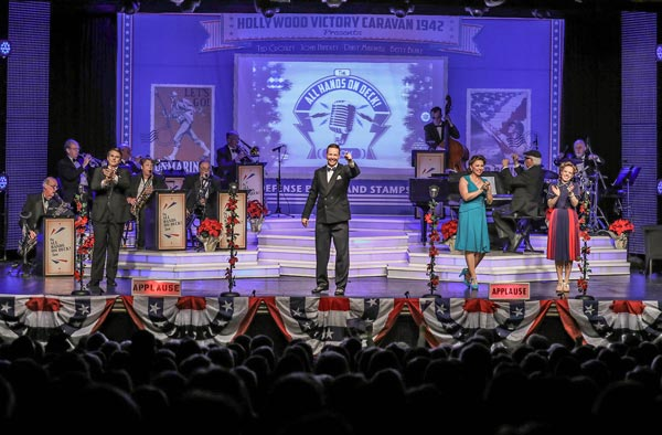 "Experience a 1940s Style Big Band Radio Broadcast With ""All Hands On Deck"" at Mayo"