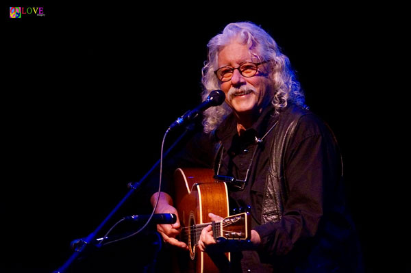 Arlo Guthrie's Re:Generation Tour LIVE! at Toms River's Grunin Center