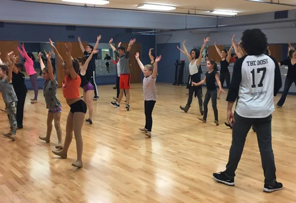 Axelrod PAC Announces New Masterclass Series  with Select Faculty from New York's Broadway Dance Center