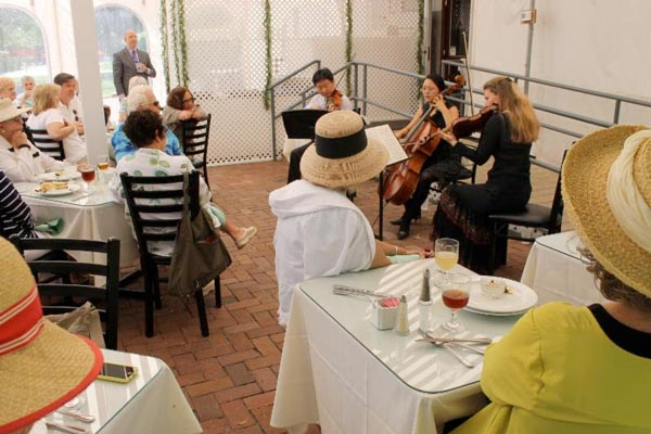 Bach's Lunches combine beautiful sounds and delicious flavors during the 28th annual Cape May Music Festival