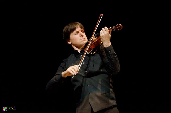 "Violinist Joshua Bell LIVE! in ""The Concert of a Lifetime"" at Deal's Axelrod PAC"