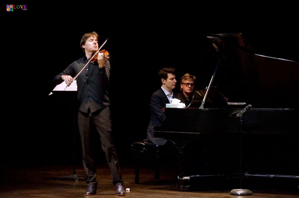 """Violinist Joshua Bell LIVE! in """"The Concert of a Lifetime"""" at Deal's Axelrod PAC"""