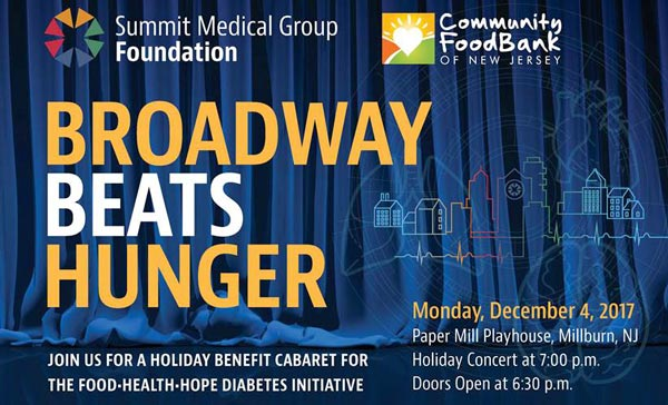 Broadway Beats Hunger Benefit In Millburn