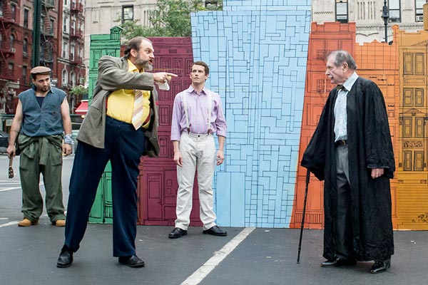 Bryant Park Offers A Modern Twist On Shakespeare's Merry Wives of Windsor