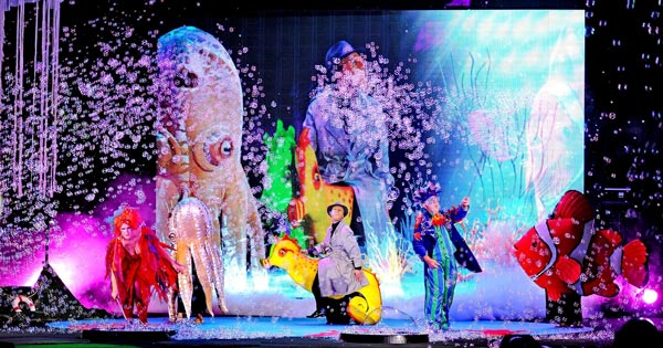 BergenPAC Presents B-The Underwater Bubble Show on January 14