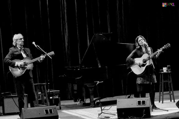 """""""American Musical Royalty."""" Rosanne Cash and John Leventhal LIVE! at Toms River's Grunin Center"""