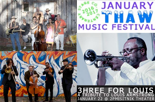 PODCAST: A Tribute to Louis Armstrong at January Thaw Music Fest