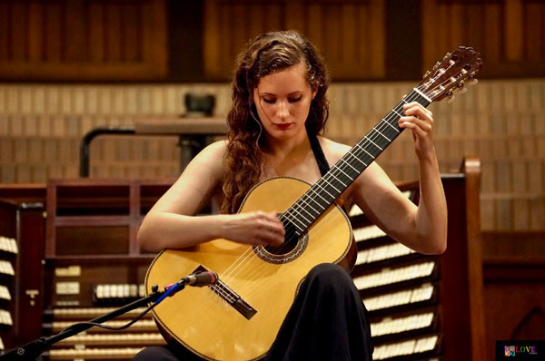 """""""An Offering for the Love of God"""" Classical Guitarist Chaconne Klaverenga LIVE! at Ocean Grove's Great Auditorium"""