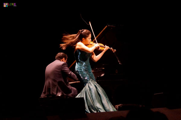 World-Class Violinist Sarah Chang is LIVE! at BergenPAC