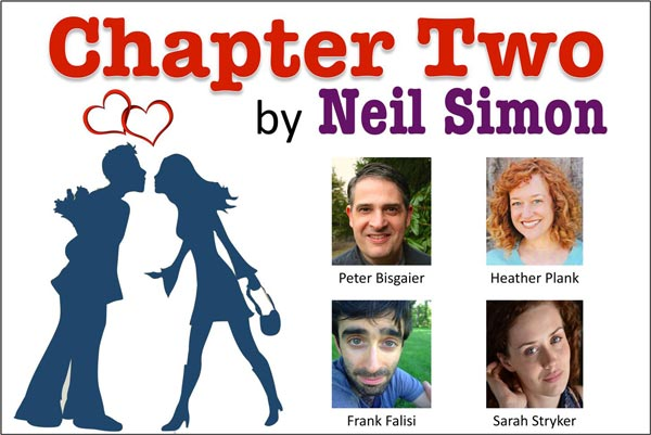 "Pegasus Theatre Project presents Neil Simon's ""Chapter Two"""