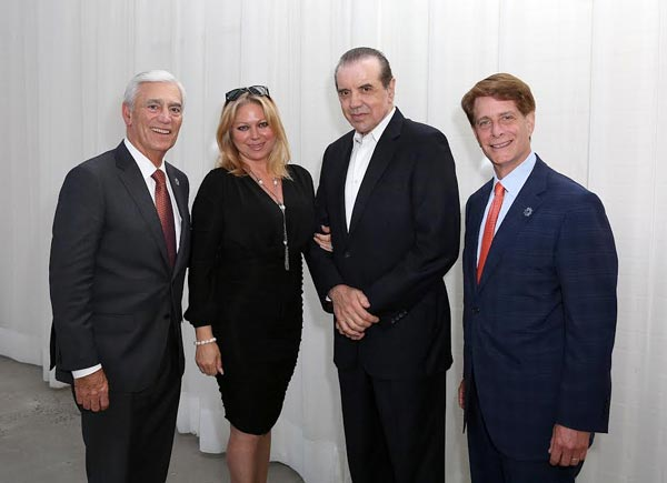 Women's Heart Fund Hosts Successful Fundraiser  with Special Guests Gianna and Chazz Palminteri  from A Bronx Tale