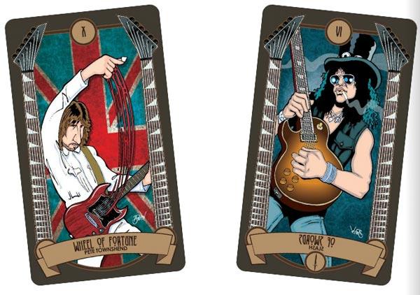 Classic Rock Tarot